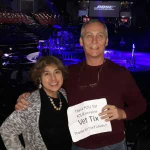 Kevin attended One Night of Queen Tribute on Feb 28th 2019 via VetTix