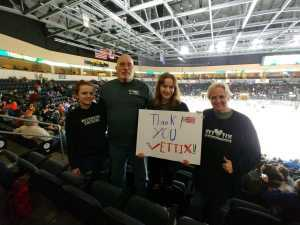 Patrick attended Kansas City Mavericks vs. Tulsa Oilers - ECHL on Apr 2nd 2019 via VetTix
