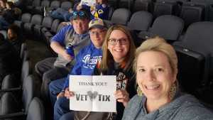 Stephanie attended Kansas City Mavericks vs. Tulsa Oilers - ECHL on Apr 2nd 2019 via VetTix