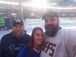 James attended Kansas City Mavericks vs. Tulsa Oilers - ECHL on Apr 2nd 2019 via VetTix