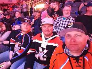 Eric attended Kansas City Mavericks vs. Tulsa Oilers - ECHL on Apr 2nd 2019 via VetTix