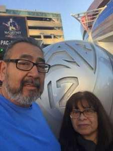 Andrew attended Pac-12 Men's Basketball Tournament - Session 4 on Mar 14th 2019 via VetTix