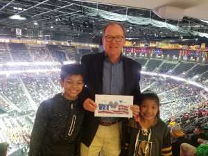 Christopher attended Pac-12 Men's Basketball Tournament - Session 4 on Mar 14th 2019 via VetTix