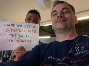 Stephen attended Pac-12 Men's Basketball Tournament - Session 4 on Mar 14th 2019 via VetTix