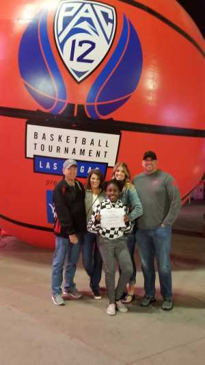 Peter attended Pac-12 Men's Basketball Tournament - Session 4 on Mar 14th 2019 via VetTix