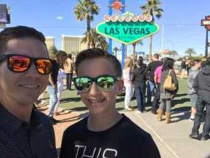 Nick& Ethan attended Pac-12 Men's Basketball Tournament - Session 4 on Mar 14th 2019 via VetTix