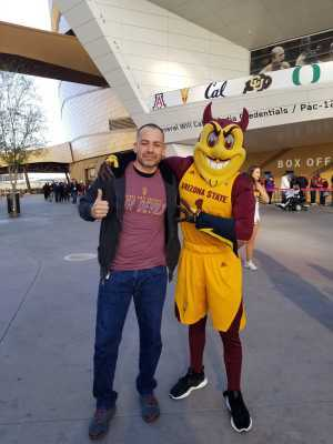 Edgar attended Pac-12 Men's Basketball Tournament - Session 4 on Mar 14th 2019 via VetTix