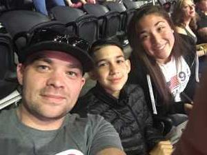 Thomas attended Pac-12 Men's Basketball Tournament - Session 4 on Mar 14th 2019 via VetTix