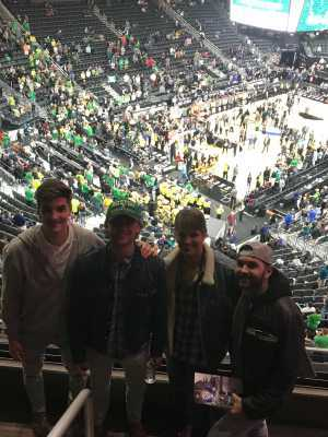 Glenn attended Pac-12 Men's Basketball Tournament - Session 6 on Mar 16th 2019 via VetTix