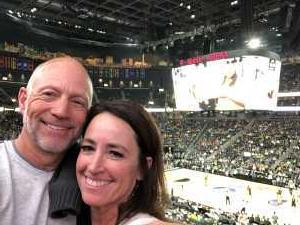 Ryan attended Pac-12 Men's Basketball Tournament - Session 6 on Mar 16th 2019 via VetTix