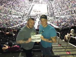 Shelby attended Pac-12 Men's Basketball Tournament - Session 6 on Mar 16th 2019 via VetTix