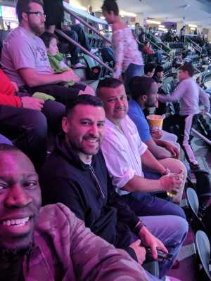 Leamon attended Pac-12 Men's Basketball Tournament - Session 6 on Mar 16th 2019 via VetTix