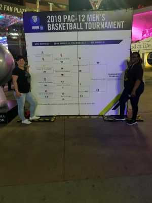 Regina attended Pac-12 Men's Basketball Tournament - Session 6 on Mar 16th 2019 via VetTix