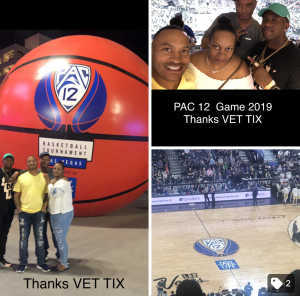 Angie attended Pac-12 Men's Basketball Tournament - Session 6 on Mar 16th 2019 via VetTix