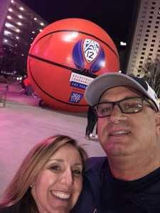 Scott attended Pac-12 Men's Basketball Tournament - Session 6 on Mar 16th 2019 via VetTix