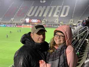 Shelby attended DC United vs. Atlanta United - Home Opener - MLS on Mar 3rd 2019 via VetTix