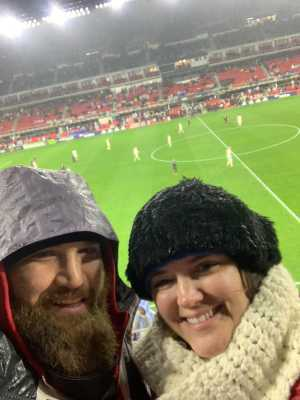 Stephen attended DC United vs. Atlanta United - Home Opener - MLS on Mar 3rd 2019 via VetTix
