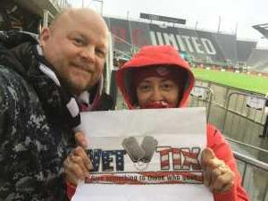 Dale attended DC United vs. Atlanta United - Home Opener - MLS on Mar 3rd 2019 via VetTix