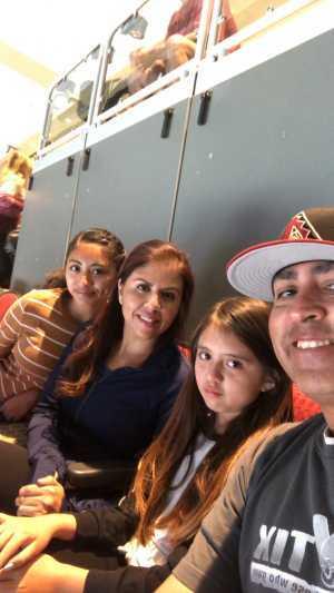 Luis Ortiz attended Arizona Coyotes vs. Los Angeles Kings - NHL on Apr 2nd 2019 via VetTix