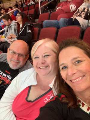 Dawn attended Arizona Coyotes vs. Los Angeles Kings - NHL on Apr 2nd 2019 via VetTix