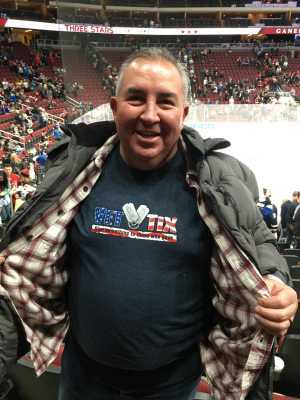 Jerome attended Arizona Coyotes vs. Los Angeles Kings - NHL on Apr 2nd 2019 via VetTix