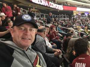 Brent attended Arizona Coyotes vs. Los Angeles Kings - NHL on Apr 2nd 2019 via VetTix