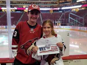 Gary attended Arizona Coyotes vs. Los Angeles Kings - NHL on Apr 2nd 2019 via VetTix