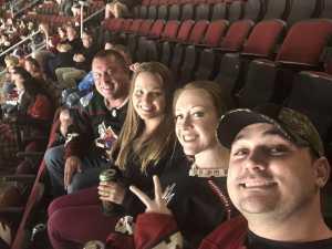 Brandon attended Arizona Coyotes vs. Los Angeles Kings - NHL on Apr 2nd 2019 via VetTix