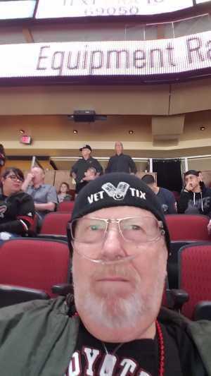 Gordon attended Arizona Coyotes vs. Los Angeles Kings - NHL on Apr 2nd 2019 via VetTix