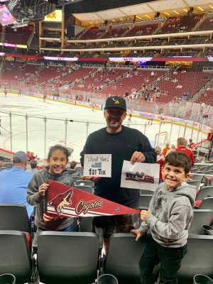 Click To Read More Feedback from Arizona Coyotes vs. Anaheim Ducks - NHL