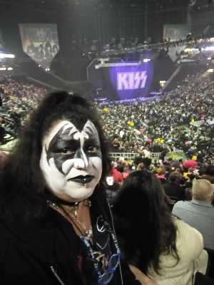Tony attended Kiss End of the Road World Tour on Feb 27th 2019 via VetTix
