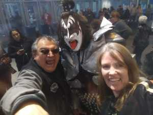 Marci attended Kiss End of the Road World Tour on Feb 27th 2019 via VetTix