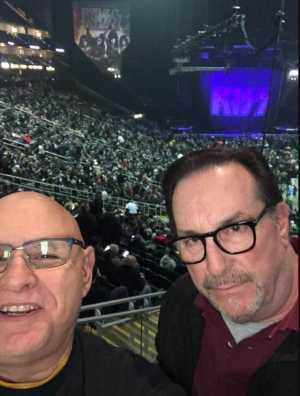 Dwight attended Kiss End of the Road World Tour on Feb 27th 2019 via VetTix