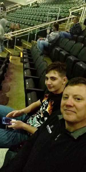 John attended Kiss End of the Road World Tour on Feb 27th 2019 via VetTix