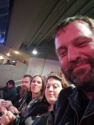 William attended Kiss End of the Road World Tour on Feb 27th 2019 via VetTix