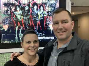 Seth attended Kiss End of the Road World Tour on Feb 27th 2019 via VetTix
