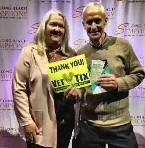 William attended Northern Lights - Presented by the Long Beach Symphony on Mar 9th 2019 via VetTix
