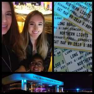 Nece attended Northern Lights - Presented by the Long Beach Symphony on Mar 9th 2019 via VetTix