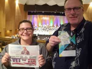Jeff attended Northern Lights - Presented by the Long Beach Symphony on Mar 9th 2019 via VetTix