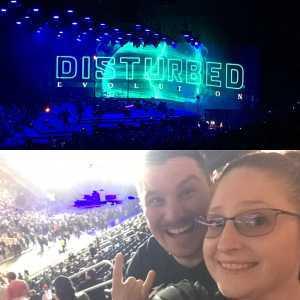 Jamie attended Disturbed: Evolution World Tour on Mar 5th 2019 via VetTix