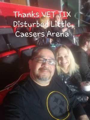 Jaime attended Disturbed: Evolution World Tour on Mar 5th 2019 via VetTix