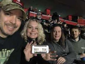 Thomas attended Disturbed: Evolution World Tour on Mar 5th 2019 via VetTix