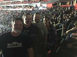 Steven attended Disturbed: Evolution World Tour on Mar 5th 2019 via VetTix