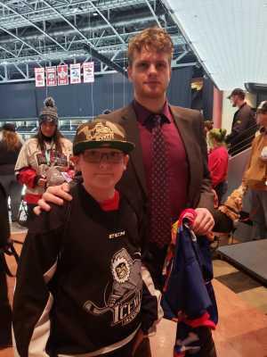 Benjamin attended Jacksonville Icemen vs. Greenville Swamp Rabbits - ECHL on Mar 9th 2019 via VetTix