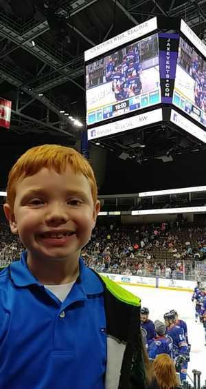 Lee attended Jacksonville Icemen vs. Greenville Swamp Rabbits - ECHL on Mar 9th 2019 via VetTix