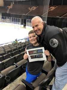 George attended Jacksonville Icemen vs. Greenville Swamp Rabbits - ECHL on Mar 9th 2019 via VetTix