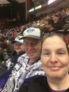 Stephen attended Jacksonville Icemen vs. Greenville Swamp Rabbits - ECHL on Mar 9th 2019 via VetTix