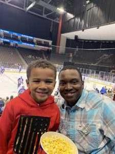 Justin attended Jacksonville Icemen vs. Greenville Swamp Rabbits - ECHL on Mar 9th 2019 via VetTix