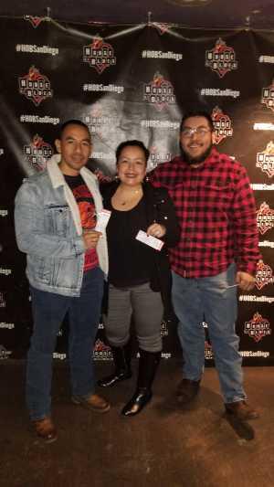 Alejandro attended Fan Halen - a Tribute to Van Halen - Undefined on Mar 8th 2019 via VetTix