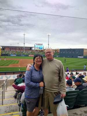 Toby attended Colorado Rockies vs. Oakland Athletics   - MLB Spring Training on Mar 11th 2019 via VetTix